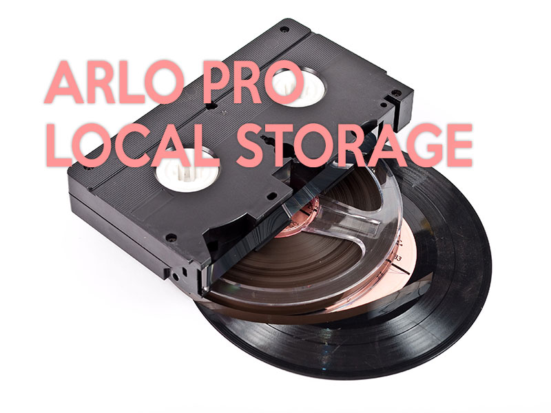 arlo pro local storage